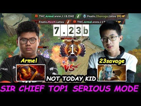 TNC Armel [Ember Spirit] MIDLANE Top1 MMR vs Fnatic 23savage PL Dota 2 7.23b pro Gameplay