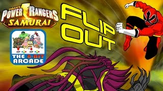 Power Rangers Samurai: Flip Out - Jump & Slide Your Way To Victory (High-Score Gameplay)