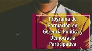 Lanzan programa de formación política para líderes con un 'dream team' de docentes