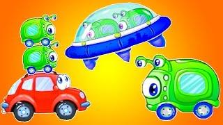 Мультики машинки. Машинка Вилли 8 мультфильм. Машины мультик. Вилли и инопланетяне. Машины детям