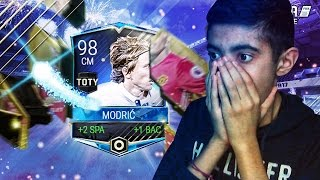 I PACKED A TOTY!! FIFA MOBILE CRAZY TOTY MIDFIELDERS PACK OPENING! - FIFA MOBILE