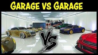 GTA 5 Online GARAGE vs GARAGE EP. 16 GOLD EDITION! (Best Cars Competition)