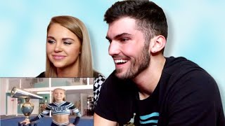 REACTING TO MY FAVORITE CHEER VIDEOS!!! (CHEER EXTREME ERICA)