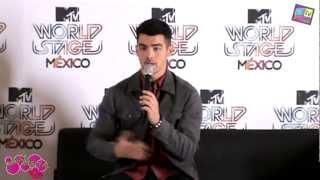 Музыкальный канал МТV, Joe Jonas en World Stage México mtv