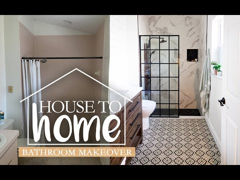 Our Farmhouse Style Master Bathroom Remodel | House to Home | Fresh Mommy