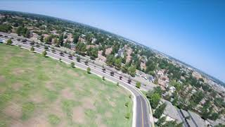 FPV Acrobatic Plane Chase