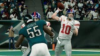 NFL Monday 12/9 - Philadelphia Eagles vs New York Giants Full Game | NFL Week 15 (Madden)