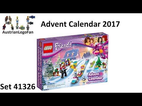 Vidéo LEGO Friends 41326 : Calendrier de l'Avent LEGO Friends 2017