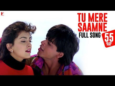 Tu Mere Saamne - Full Song   Darr   Shah Rukh Khan   Juhi Chawla   Lata Mangeshkar   Udit Narayan