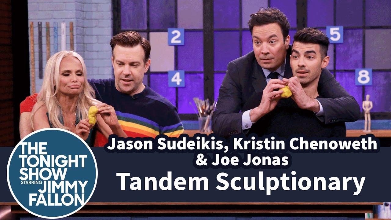 Tandem Sculptionary with Jason Sudeikis, Kristin Chenoweth and Joe Jonas thumbnail