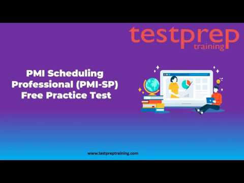 PMI Scheduling Professional (PMI-SP) Practice Question ... - YouTube