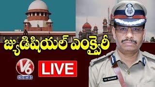 Disha Case Encounter  Updates LIVE    Supreme Court Hearing LIVE    V6 Telugu News