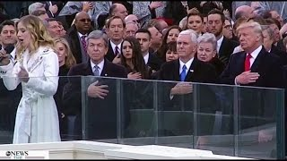 HD Jackie Evancho - National Anthem (SINGING LIVE) on President Donald Trump's Inauguration