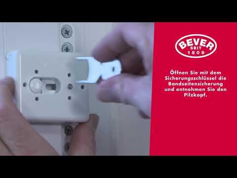 Bever & Klophaus GmbH, STUCO SAFE Fenstersicherung, Bandseitensicherung, Montagevideo, 23S