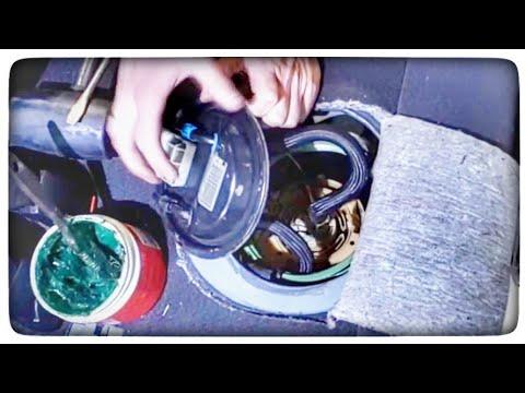 Jak wymienić uszczlkę pompy paliwa baku w OPEL ASTRA G - poradnik