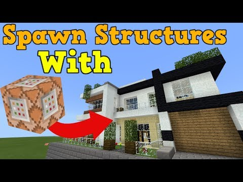 Spawn Structures With Functions Minecraft Project