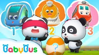 Baby Panda and Super Train | Super Rescue Team | Animation for Kids | BabyBus Song