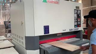 MÁY CHÀ NHÁM THÙNG 1,3m Woodmaster WM-1300RP Giá tốt Máy tốt