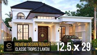 Video Desain Rumah Classic 2 Lantai Ibu Joanne di  Yogyakarta