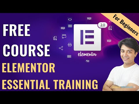 Elementor Free Course for beginners - Elementor Essential training ...