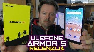 Ulefone Armor 5 recenzija - best buy robusni smartfon - NFC, 5000 mAh, bežično punjenje (04.10.2018)