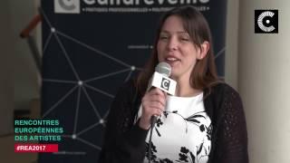 Emily Gonneau aux Rencontres Européennes des Artistes 2017