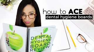 How I Studied For The Dental Hygiene National Boards