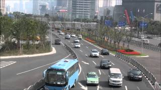 Video : China : Scenes in PuDong, ShangHai 上海