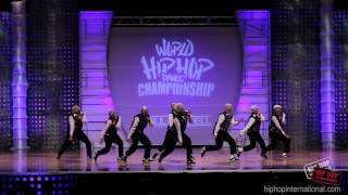 NEUTRAL ZONE - Mexico (Silver Medalist Adult Division)  2012 World Hip Hop Dance Championship