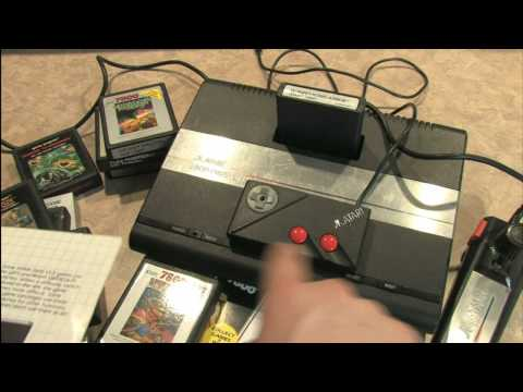 Classic Game Room HD - ATARI 7800 ProSystem review