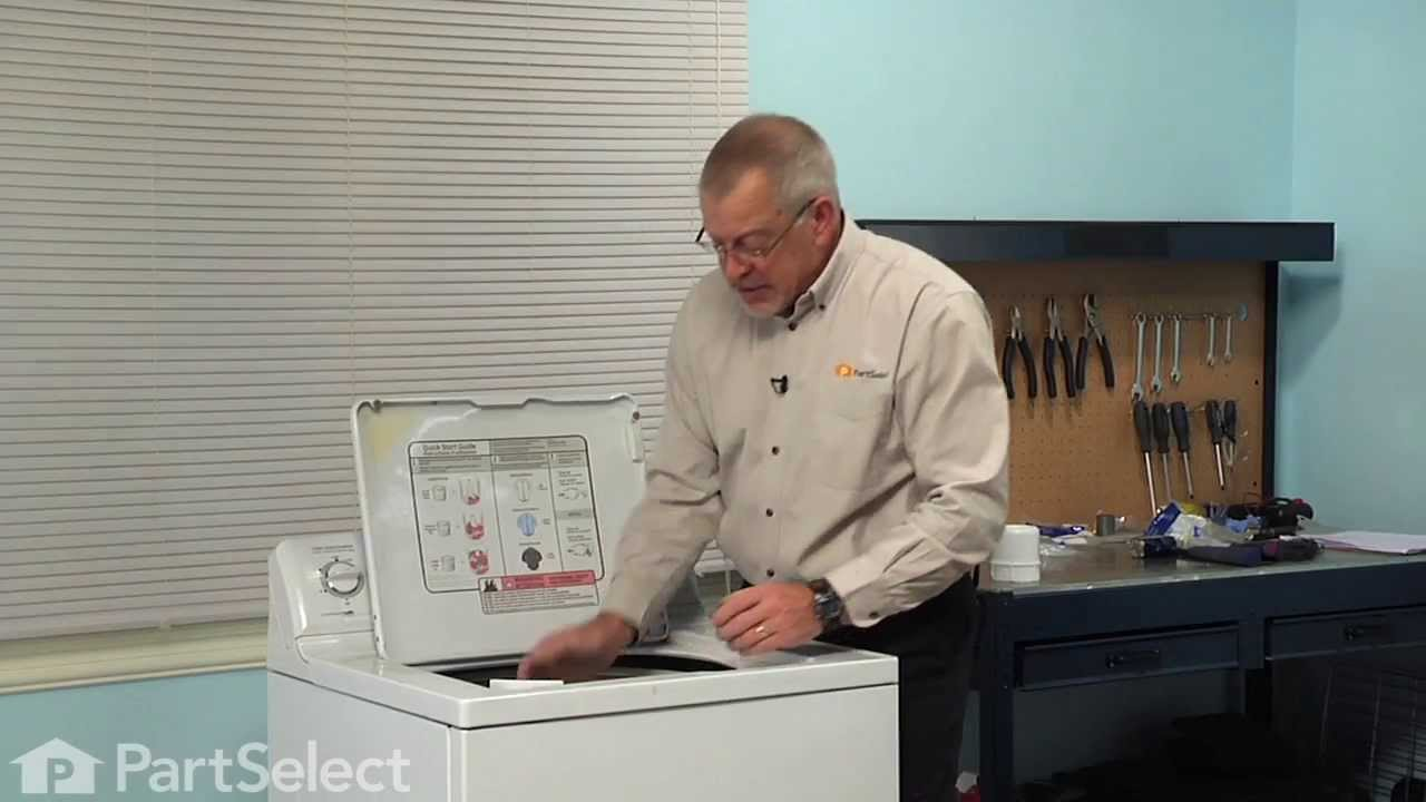 Replacing your General Electric Washer Fabric Softener Dispenser