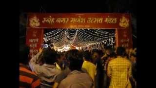 Ganesh Chaturthi 2013 in Nagpur - Фетиваль посвященный Шри Генеши