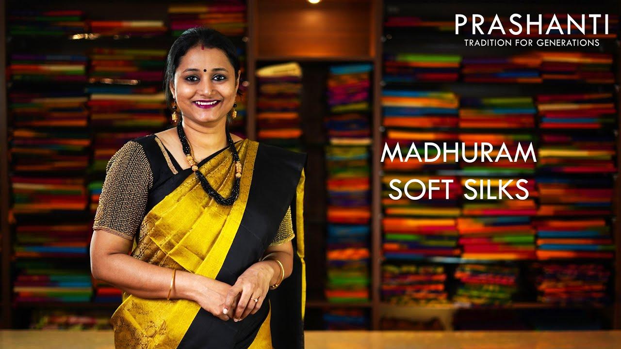 "<p style=""color: red"">Video : </p> lightup Madhuram Soft Silks | 15 Oct 20 | Prashanti 2020-10-15"