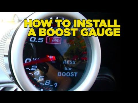 Video How To Install Boost Gauge DIY