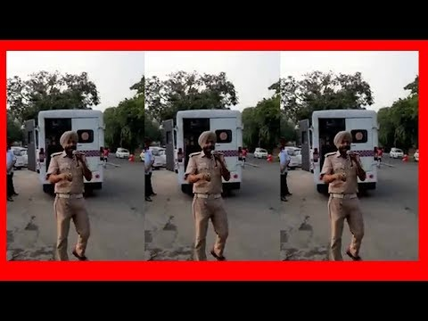 Chandigarh traffic cop's Daler Mehndi song on 'no parking' goes viral