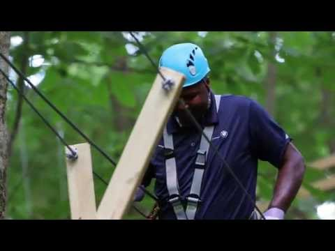 Koteewi Aerial Adventure Treetop Trails in Noblesville, Indiana