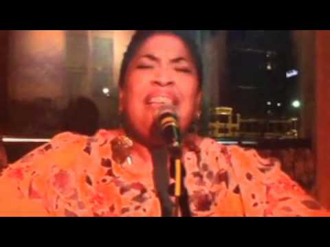 "Leah Williams feat. Alan Maxie - ""Little Girl Blue"" at Manhattan's Toledo"