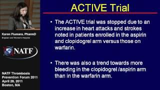 Warfarin for Stroke Prevention - Karen Fiumara, PharmD