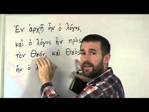 Greek for Beginners, with New Testament; John 1:1