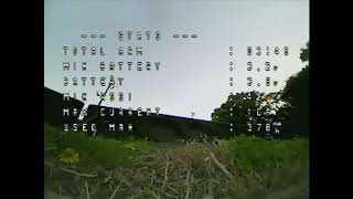 FPV Parachute drop and park flying