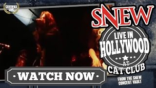SNEW - LIVE video of We Do What We Want