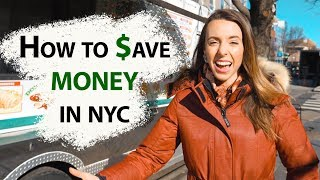 HOW TO SAVE MONEY IN NEW YORK CITY