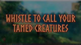 Whistle to call your tamed creatures - ValheimTwitch