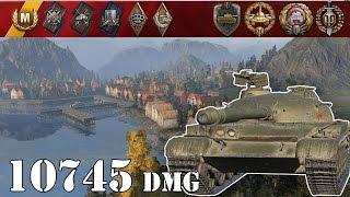 World Of Tanks  Object 140 .. 10745 Dmg