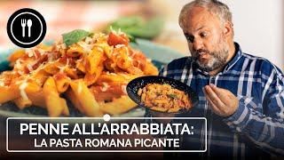 PENNE ALL'ARRABBIATA, la pasta romana PICANTE