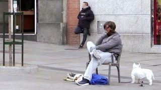 Криштиану Рональдо вышел на улицы Мадрида