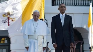 Pope Francis: U.S. 'largely built' by immigrants