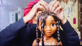 ASMR Ghetto Hair Salon Roleplay | Braiding