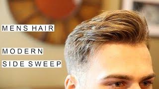 Modern Side Sweep Hairstyle | Best Mens Hairstyles | Short Hair For Men