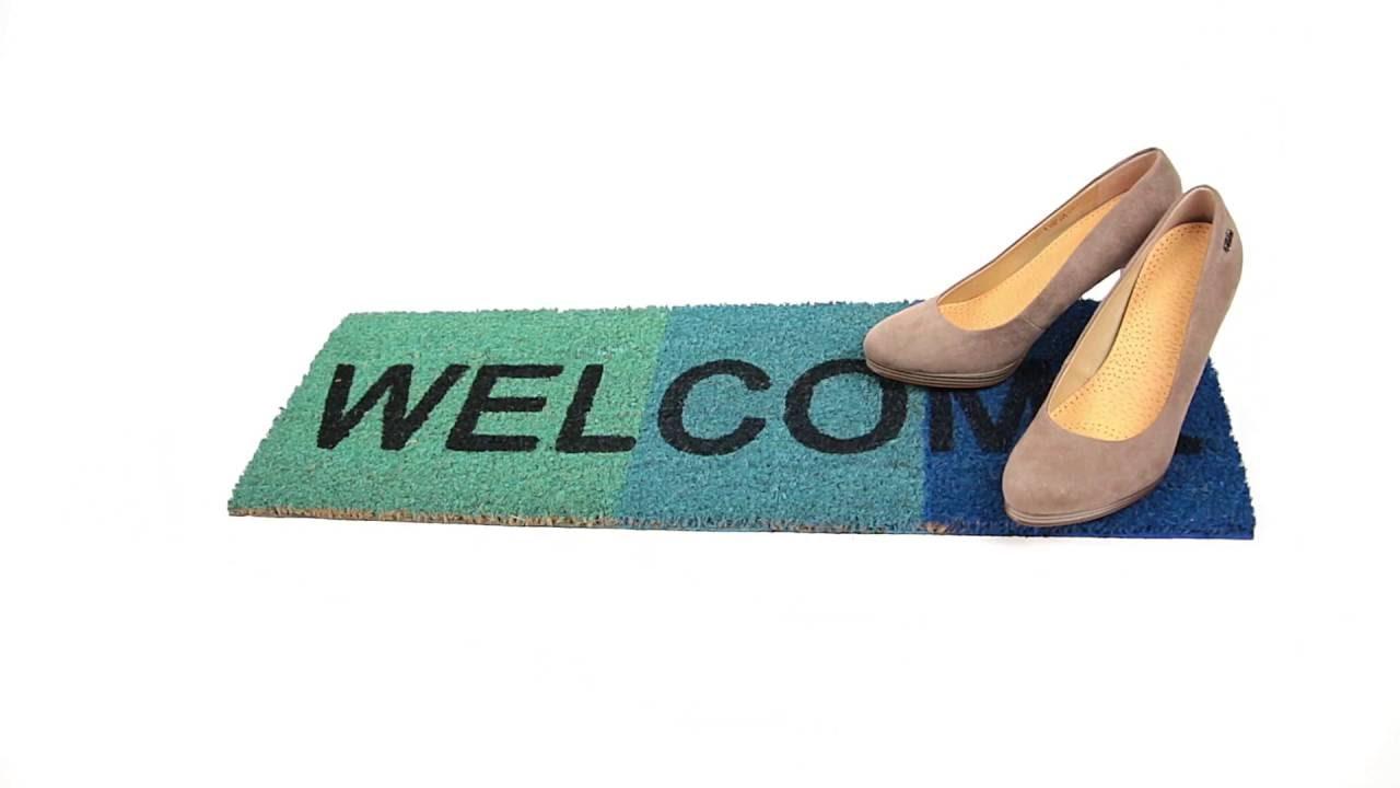 Video von: Fußmatte schmal WELCOME